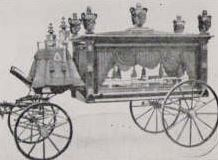 Hearse used around 1884